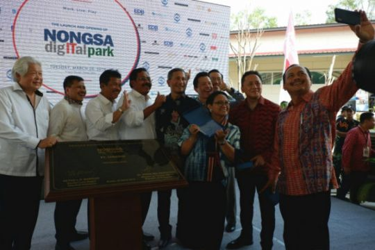 "Nongsa Digital Park, jembatan menuju ""Silicon Valley"" Indonesia"