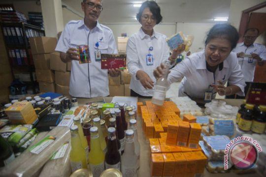 BBPOM Bali sita barang ilegal