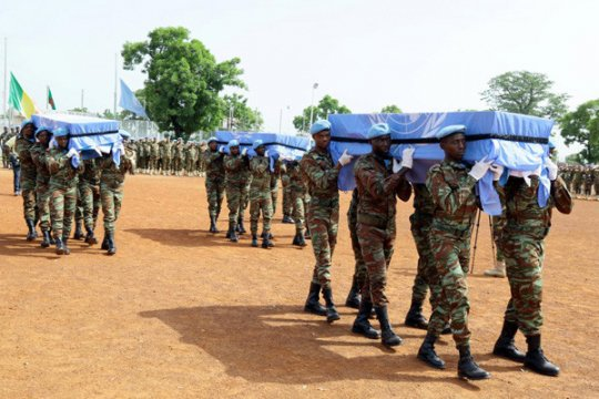 Empat penjaga perdamaian PBB tewas dalam serangan di Mali