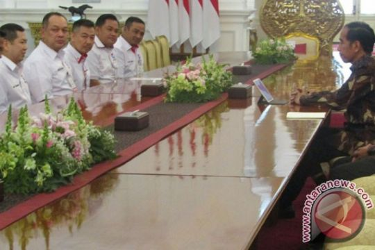 Hary Tanoesoedibjo diterima Presiden di Istana