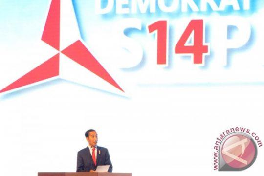 Presiden Jokowi mengaku seorang demokrat