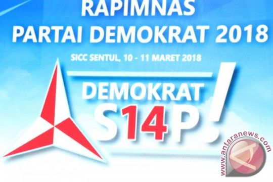 Rapimnas Partai Demokrat bahas Pilkada 2018 dan Pilpres 2019