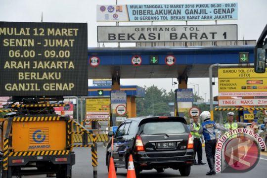 Aturan ganjil-genap Tol Jakarta-Cikampek dievaluasi periodik