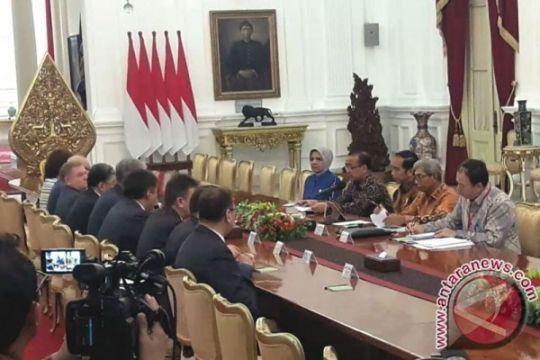 Presiden Jokowi terima Senat Parlemen Kazakhstan