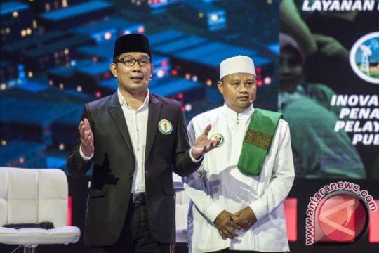 Kang Emil dan Kang Uu santai hadapi debat Pilkada Jabar