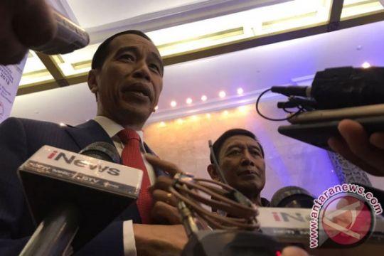 Jokowi sebut Mars Perindo modal buat HT