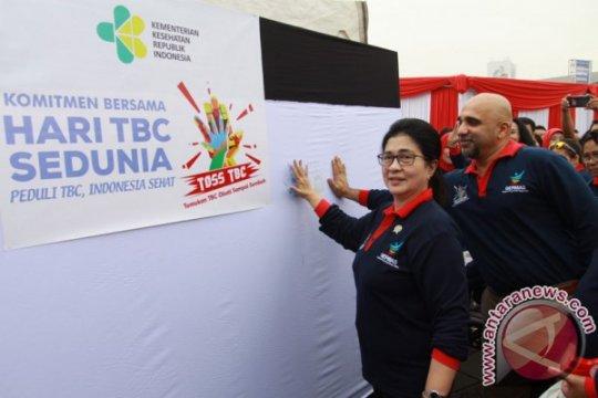 Menkes: Eradikasi TBC perlu kerja sama lintas kementerian