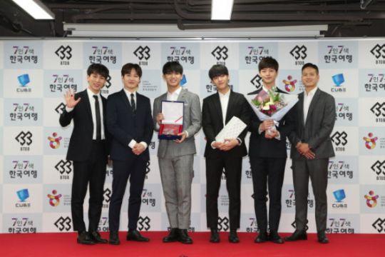 BTOB curhat soal tampil bersama musisi Cube dan konser di Indonesia
