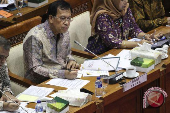 RDP komisi XI dengan Dirjen Pajak