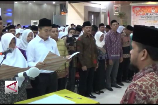 KIP lantik PPK dan PPS kota Banda Aceh
