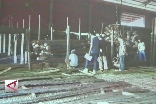 Polisi sita 54.940 batang besi baja tak ber-SNI