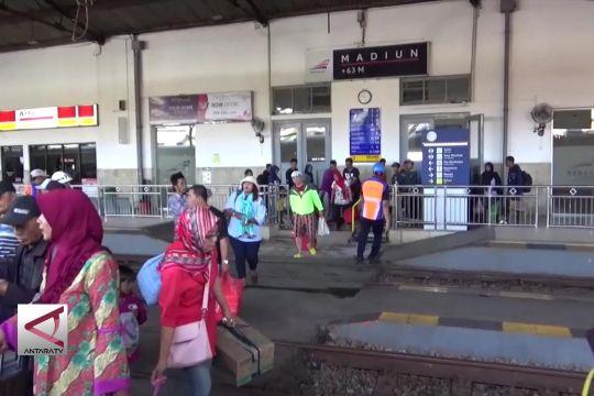 Tiket Mudik KA jurusan Jakarta-Madiun ludes