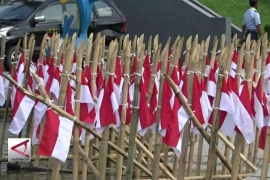 1.500 Bambu Runcing peringati Serangan Umum 1 Maret