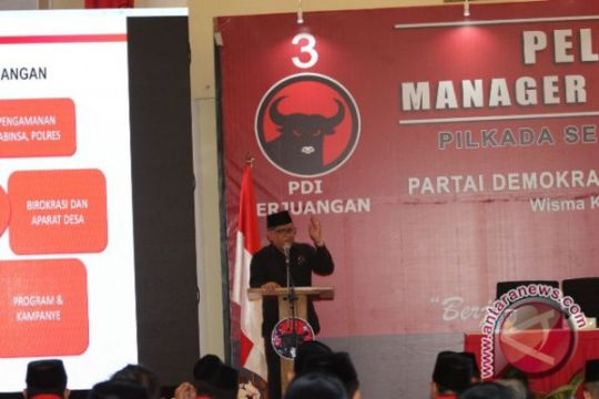 PDIP latih manajer kampanye gelorakan dukung Jokowi