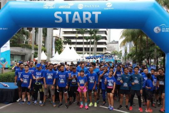 """Run for Water"" digelar memperingati Hari Air Sedunia"