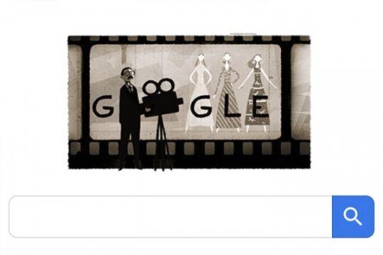 Usmar Ismail Bapak Film Nasional hadir di Google Doodle