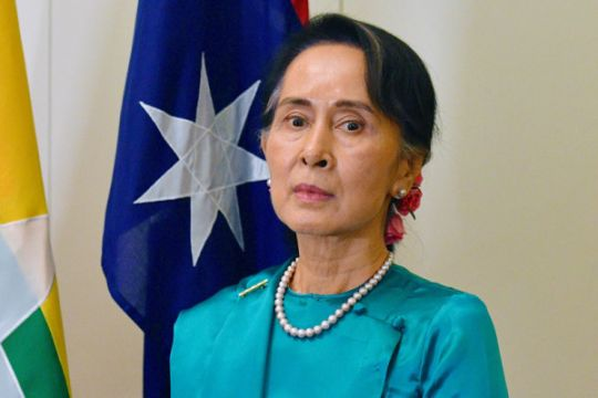 Amnesty International mencabut penghargaan HAM untuk Aung San Suu Kyi