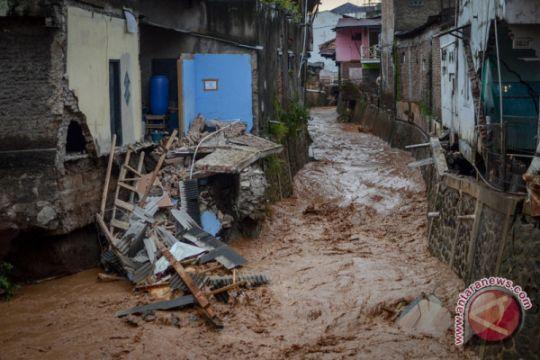 FOTO - Kondisi terkini pascabanjir bandang Cicaheum
