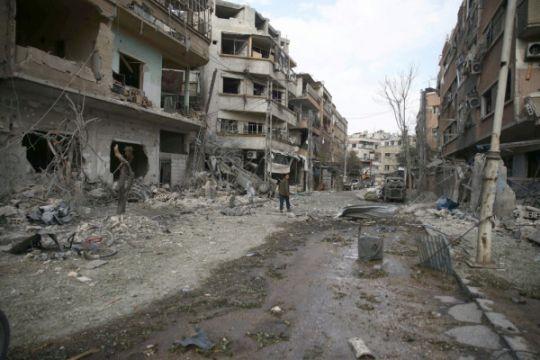 Serangan koalisi pimpinan AS tewaskan 17 orang di Suriah