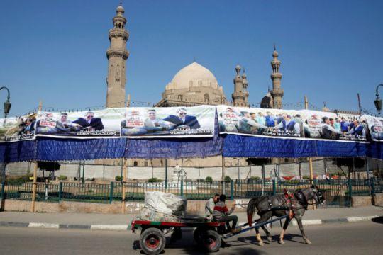 Pemimpin Mesir-Prancis bahas krisis kemanusiaan di Jalur Gaza