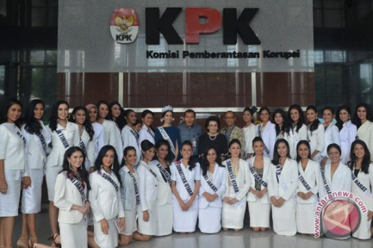 Finalis Putri Indonesia datangi KPK