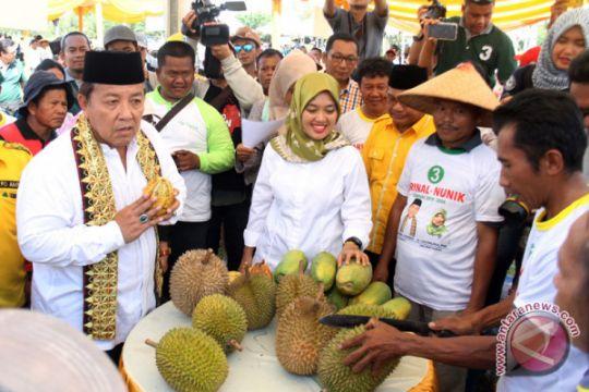 Kampanye terbuka terbatas Cagub Lampung