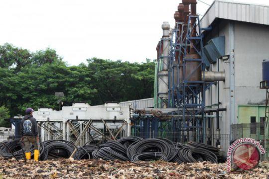 BPPT uji  pengolahan sampah proses termal Bantargebang