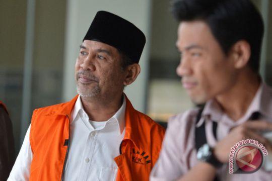 Mobil mewah dan moge Bupati Hulu Sungai Tengah dibawa ke Jakarta