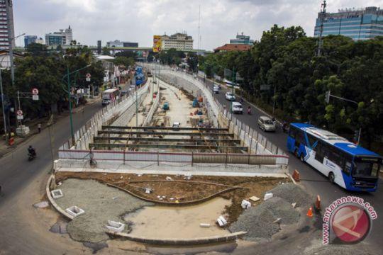 Underpass Mampang-Kuningan diujicoba Rabu pekan ini