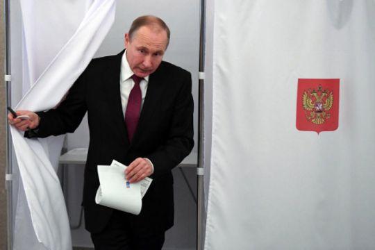 Hasil suara Pemilihan Presiden Rusia