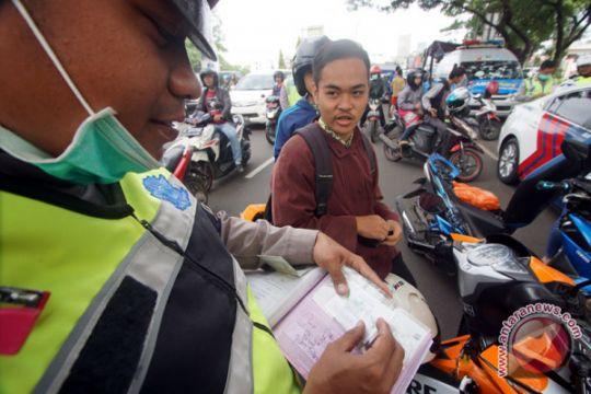 Razia pajak kendaraan bermotor