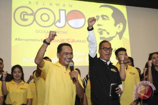 Relawan GoJo siap menangkan Jokowi-Ma`ruf di Banten