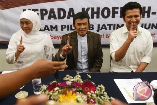 Yakin partainya menangi gugatan, Rhoma pimpin deklarasi dukung Khofifah-Emil