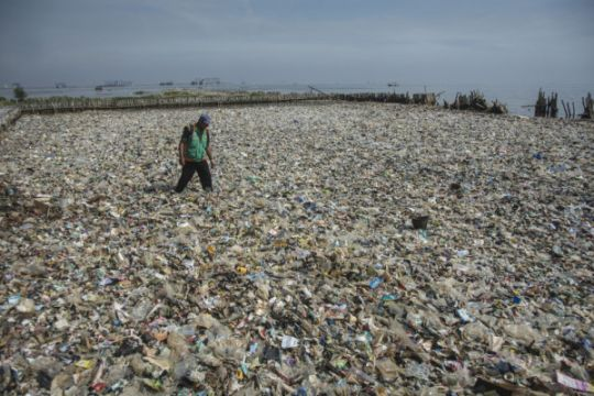 Pemprov DKI lanjutkan pembersihan Teluk Jakarta