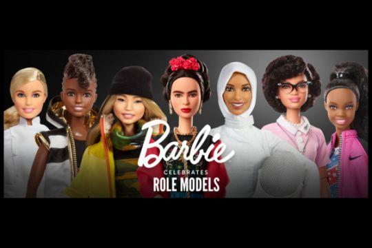 Barbie luncurkan 17 boneka tokoh perempuan menginspirasi