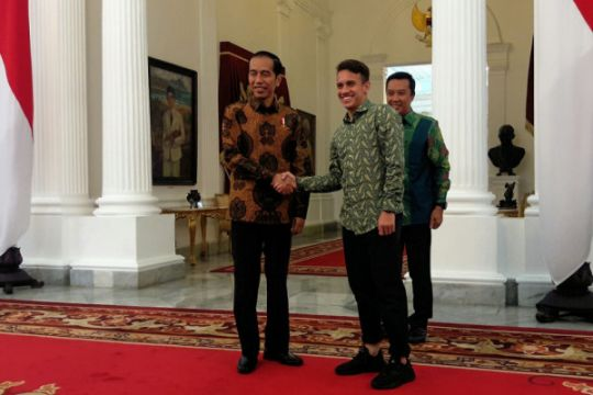 Egy Maulana temui Presiden di Istana