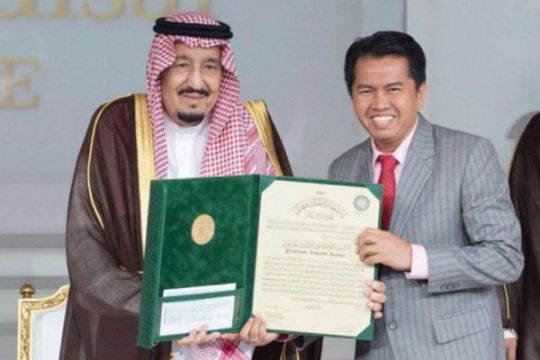 Profesor asal Indonesia raih 200 ribu dollar AS dari Raja Salman