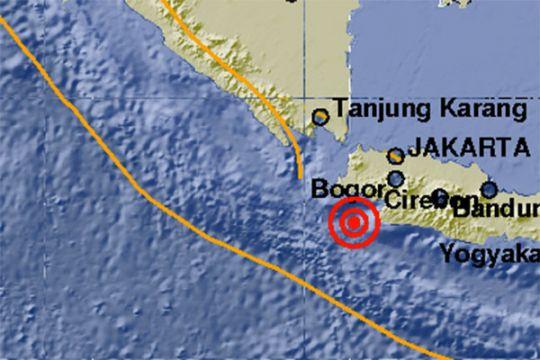 Gempa Lebak tak berpotensi tsunami, pusat gempa 98 km di laut