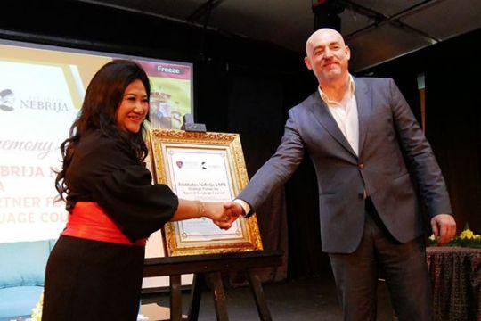 LSPR-Institutos Nebija dorong pengajaran bahasa Spanyol di Indonesia