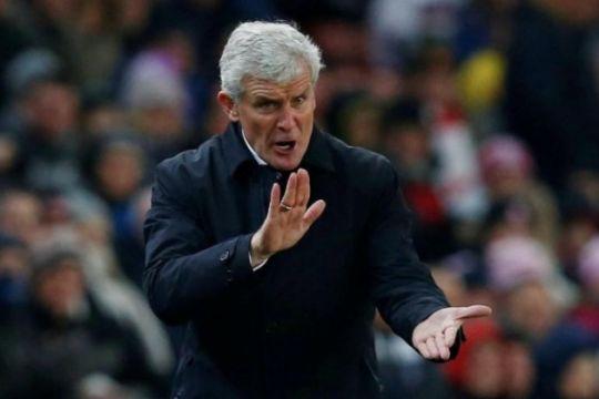 Hughes bawa Southampton ke semifinal FA pada laga pertama