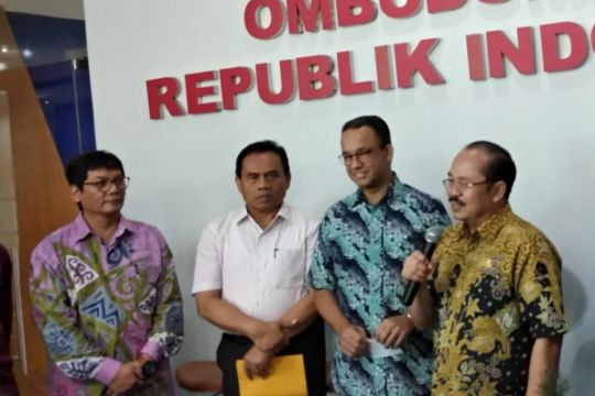 Anies apresiasi kehadiran Ombudsman Jakarta Raya