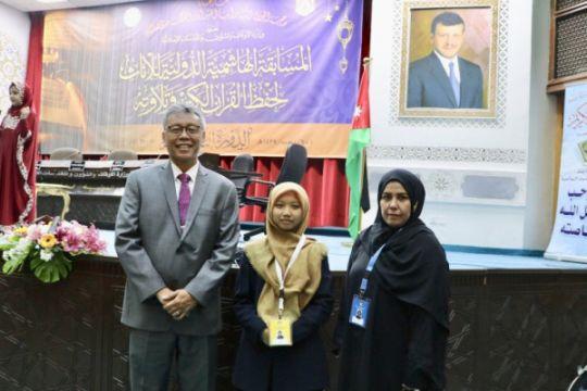 Rifdah sang juara dua Musabaqah Internasional ditawari beasiswa S2
