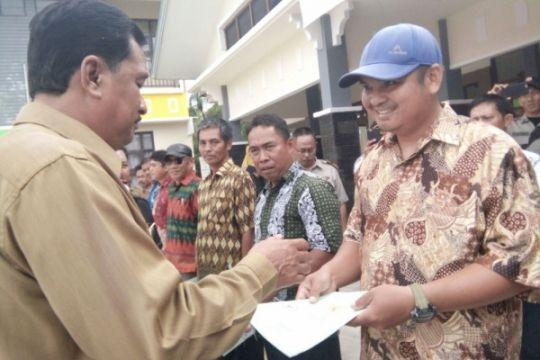 2.500 sertifikat tanah bagi warga perbatasan Indonesia-Malaysia
