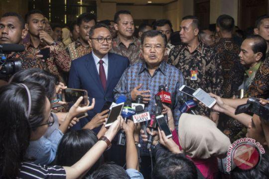 Zulkifli Hasan temui Jusuf Kalla untuk konsultasi soal tahun politik