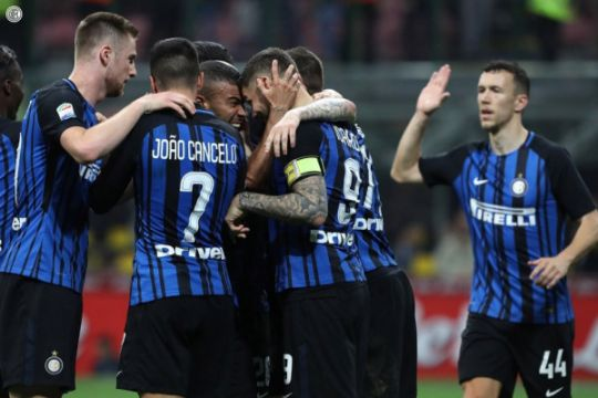 Menang dramatis, Inter Milan rebut tiket Liga Champions