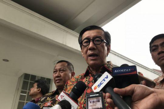 Menkumham: KPU dilarang buat norma hilangkan hak politik