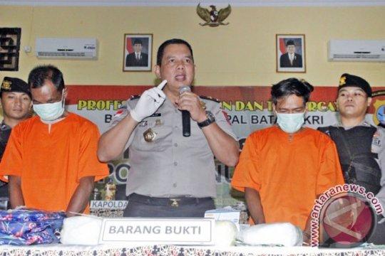 Polisi ungkap penyelundupan 8 kg sabu-sabu di Nunukan