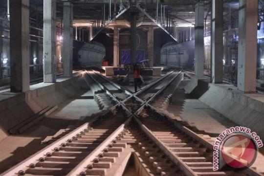 Pembangunan MRT Jakarta sudah 94 persen selesai