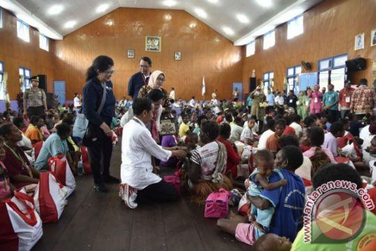 Presiden minta Bupati Asmat perhatikan gizi anak