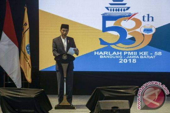 Presiden ajak kader PMII budayakan politik beretika